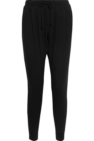 Helmut Lang Woman Pleated Fleece Track Pants Size L