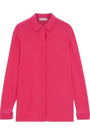 Emilio Pucci Woman Silk Crepe De Chine Shirt Bright Size 38