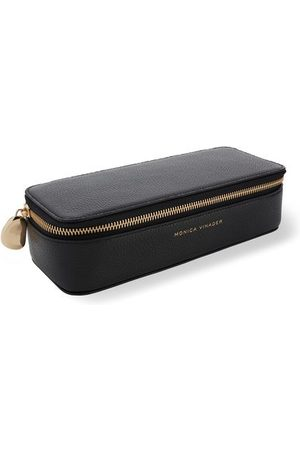 Monica Vinader Jewelry - Personalised Large Leather Trinket Box with dustbag