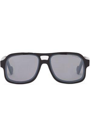 Moncler Women Aviators - Aviator Acetate Sunglasses - Womens