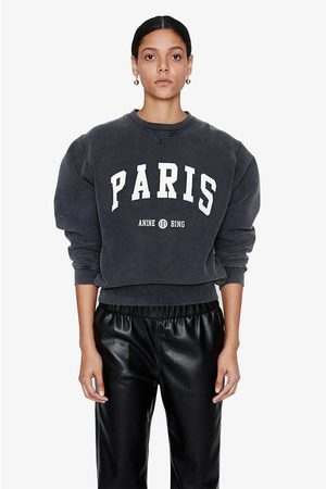 ANINE BING Women Sweatshirts - Ramona Sweatshirt University Paris in Washed