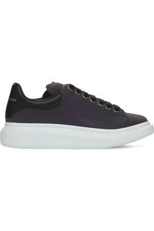 Alexander McQueen Men Platform Sneakers - 45mm Iridescent Platform Sneakers
