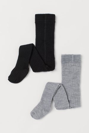 H&M Baby Stockings - 2-pack Wool-blend Tights