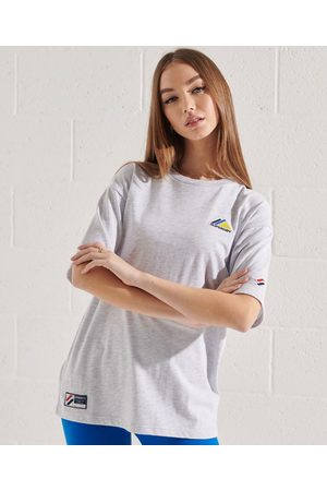 Superdry Mountain Sport Embroidered M Ice Marl