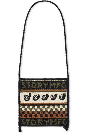 Story Men Bags - Crochet Stash Bag
