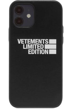 Vetements Men Phones Cases - Logo Limited Edition iPhone 12 Case