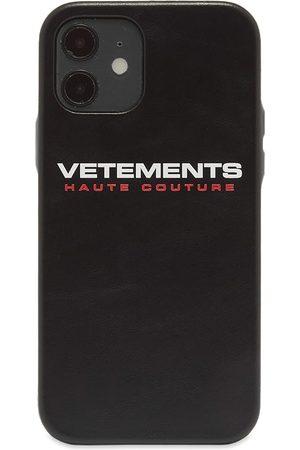 Vetements Logo Haute Couture iPhone 12 Case