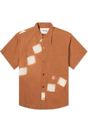 Story Short Sleeve Block Print Shore Shirt