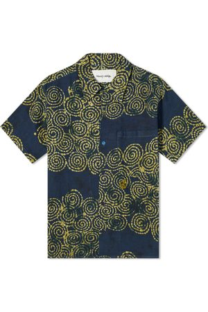 Story Short Sleeve Spiral Batik Shore Shirt