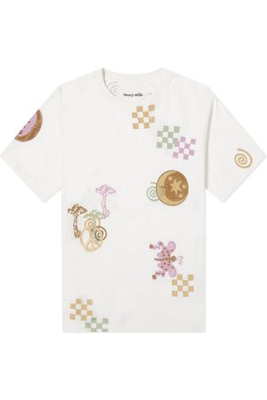 Story Embroidered Grateful Tee