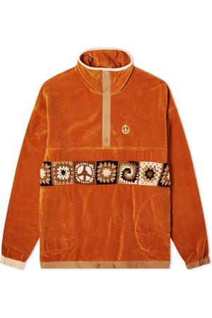 Story Men Sweaters - Polite Pullover Crochet Velvet Jacket