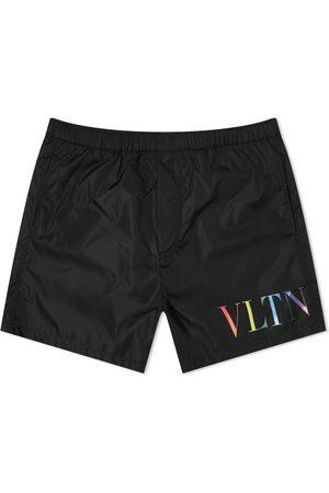 VALENTINO Vltn Multi Logo Swim Short