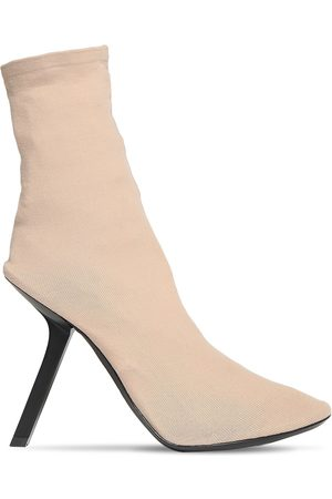 Balenciaga Women Ankle Boots - 110mm Stretch Ankle Boots
