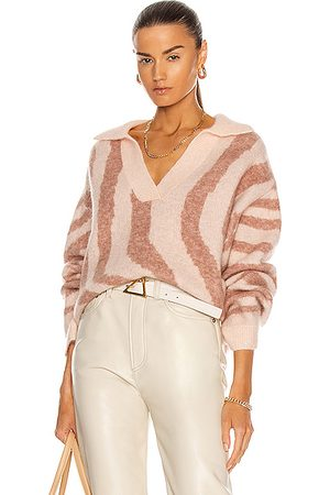 REMAIN Women Camisoles - Cami Polo Knit Sweater in Pink