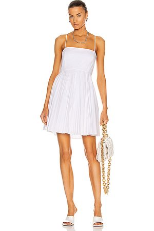 JONATHAN SIMKHAI Priya Mini Dress in White