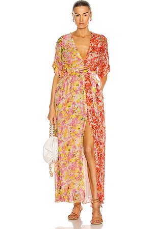 ROCOCO SAND Nesh Maxi Dress in Yellow