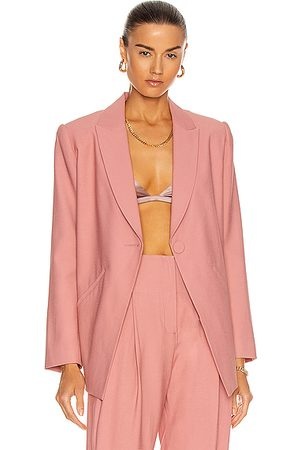 The Sei Single Breasted Blazer in Pink