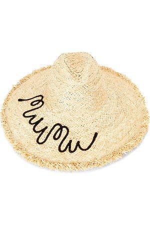 Miu Miu Raffia Hat in Neutral
