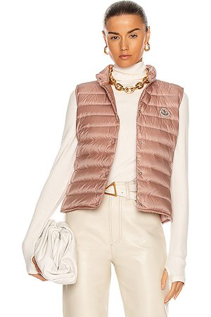Moncler Women Gilets - Liane Vest in Blush