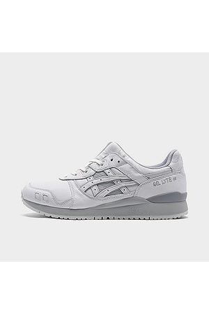 Asics Men's GEL-Lyte III OG Casual Shoes in White/White Size 9.0 Suede