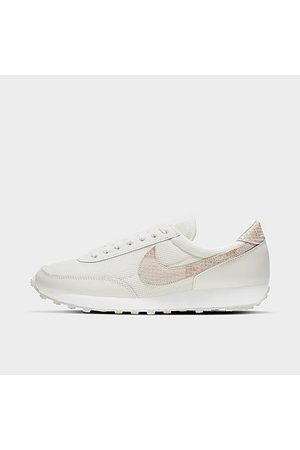 Nike Women's Daybreak Casual Shoes in White/Animal Print/Sail