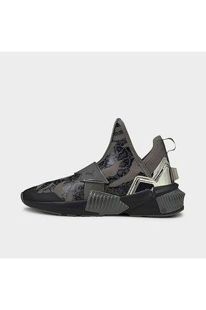 PUMA Women's Provoke XT Untamed Casual Training Shoes in Black/ Black Size 6.0