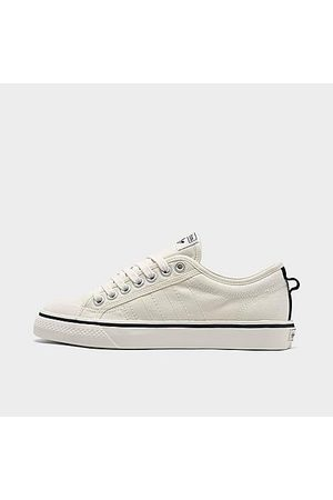 adidas Women Casual Shoes - Women's Originals Nizza Low Casual Shoes in Off-White/Off White