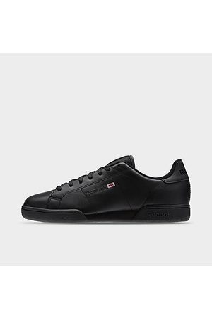 Reebok Men's Classics NPC II Casual Shoes in Black/Black Size 3.5 Leather