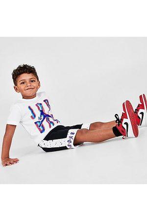 Nike Sets - Jordan Boys' Toddler Space Glitch Jumpman T-Shirt and Shorts Set Size 2 Toddler Knit
