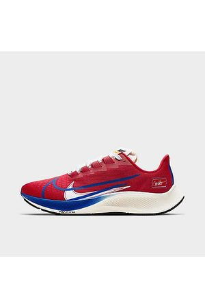 Nike Men's Air Zoom Pegasus 37 Premium Running Shoes in Red/Gym Red