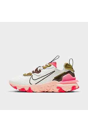 Nike Women's React Vision Running Shoes in White/Summit White Size 11.5
