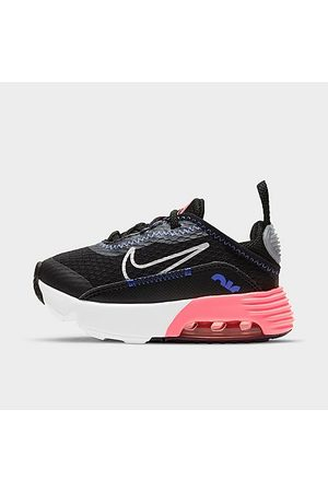 Nike Girls' Toddler Air Max 2090 Casual Shoes in Black/Black Size 4.0
