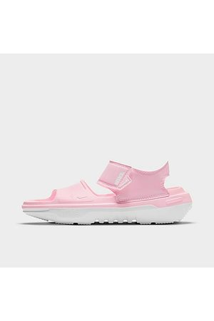 Nike Girls' Big Kids' Playscape Sandals in Pink/Pink Size 4.0