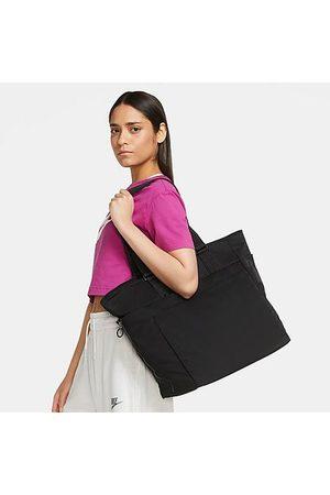 Nike Women's One Luxe Training Tote Bag in Black/Black 100% Nylon/Polyester