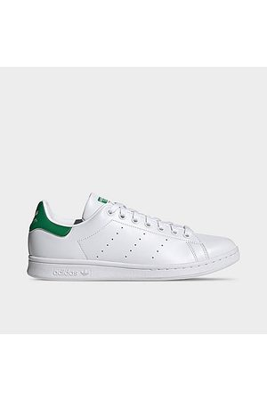 adidas Men's Originals Stan Smith Primegreen Casual Shoes in White/Footwear White Size 9.5 Polyester