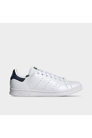 adidas Men's Originals Stan Smith Primegreen Casual Shoes in White/Footwear White Size 8.0 Polyester