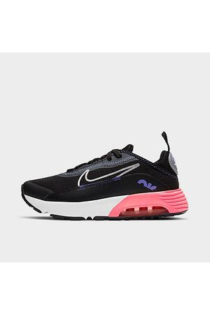 Nike Girls' Little Kids' Air Max 2090 Casual Shoes in Black/Black