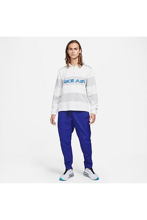 Nike Men Pants - Men's Sportswear Woven Sweatpants in Blue/Deep Royal Blue