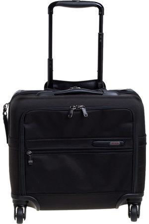 Tumi Black Nylon Gen 4.2 4 Wheeled Compact Carry On Luggage