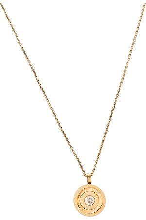 Chopard Happy Spirit Diamond 18K Yellow Gold Pendant Necklace