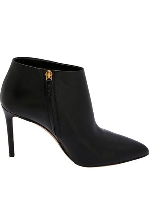 Gucci Black Leather Ankle Boots Size EU 37.5