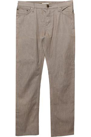 Burberry Brown Denim Straight Leg Steadman Jeans M