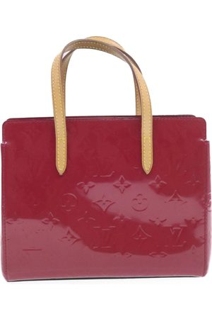 LOUIS VUITTON Louis Vuiiton Red Monogram Vernis Catalina BB Bag