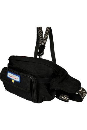 Gucci Black Nylon 80's Patch Convertible Belt Bag