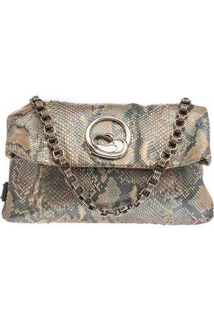 Marc Jacobs Multicolor Python Fold Over Shoulder Bag