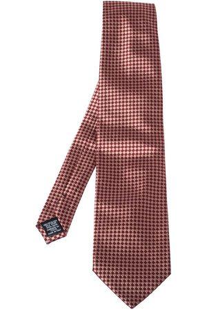 Gianfranco Ferré Bicolor Checkered Silk Jacquard Tie