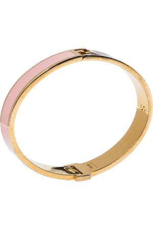 Fendi The sta Multicolor Enamel Gold Tone Bracelet S