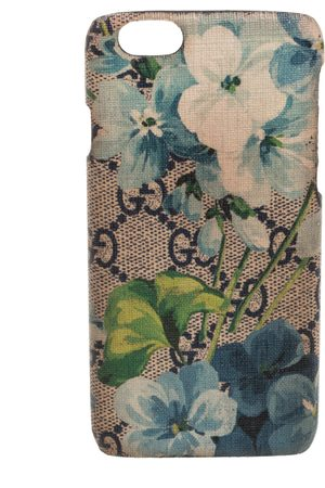 Gucci Multicolor Blooms Print GG Canvas iPhone 6 Case
