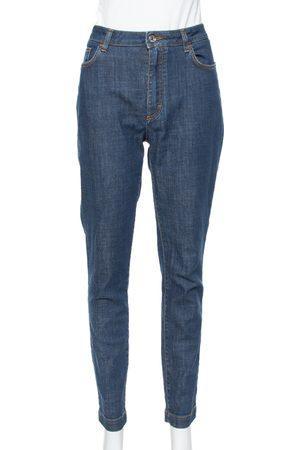 Dolce & Gabbana Navy Blue Denim Skinny Audrey Jeans L
