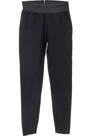 Stella McCartney Black Stretch Cotton Elasticized Waist Trousers XS